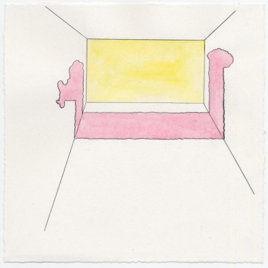 # 22 - 2012 - pencil, colored pencil on paper - 8 7/8 x 8 7/8